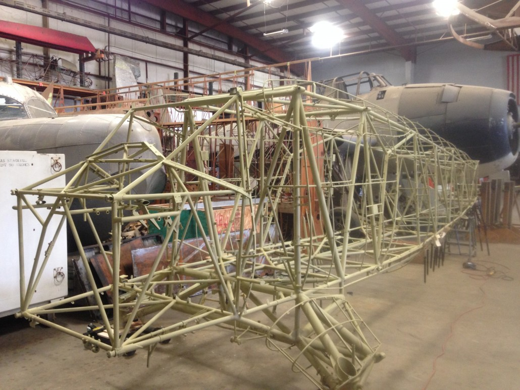 Serial 139 (Ex. CF-IJG) fuselage airframe.  Yanks Air Museum in California is starting restoration of this Norseman, originally built as USAAF 43-5148 to airworthy status.